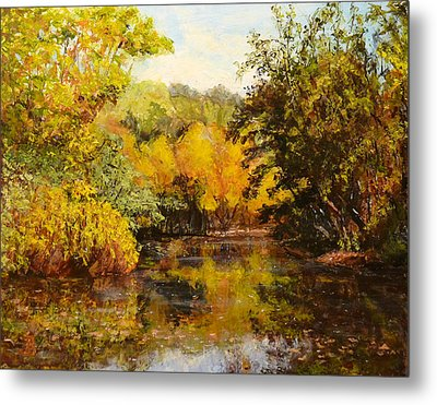 River's Bend Metal Print