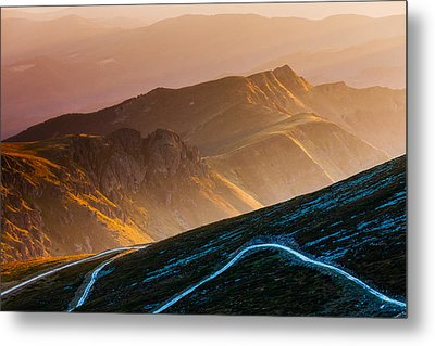 Road To Middle Earth Metal Print by Evgeni Dinev