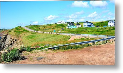 Metal Print featuring the photograph Road Trip In Cape Breton Nova Scotia by Joe  Ng