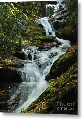 Metal Print featuring the photograph Roaring Fork Falls by Deborah Smith