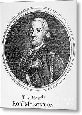 Robert Monckton (1726-1782) Metal Print by Granger