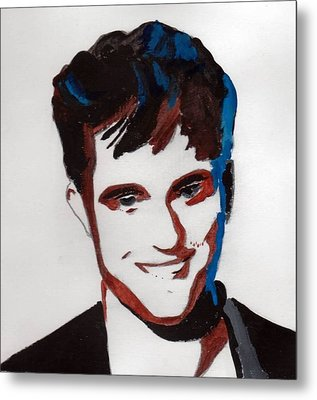 Robert Pattinson 7 Metal Print