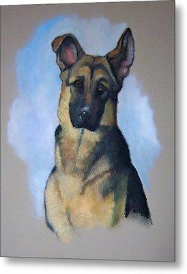 Rob's Dog Metal Print by Joyce Geleynse