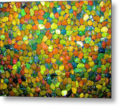 Metal Print featuring the photograph Rock Candy by Carolyn Repka
