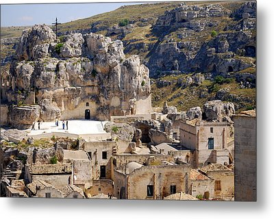 Rock Church Santa Maria Idris Metal Print