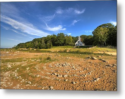 Metal Print featuring the photograph Rock Circles by Coby Cooper