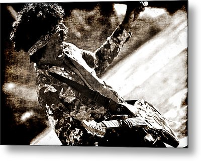 Rock N Roll Dream Metal Print by Frederico Borges