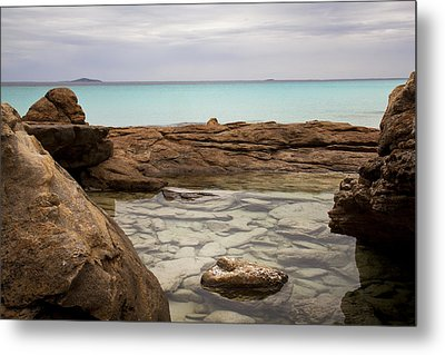 Metal Print featuring the photograph Rock Pool by Serene Maisey