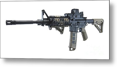 Rock River Arms Ar-15 Rifle Metal Print by Terry Moore