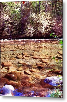 Metal Print featuring the photograph Rock Work by Janice Spivey