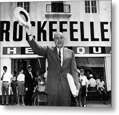 Rockefeller Family. Future Governor Metal Print by Everett