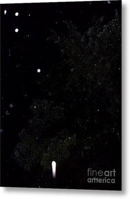 Rocket In The Rain Metal Print by Doug Kean