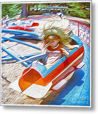 Rocket Ride Metal Print by Gregory Dyer