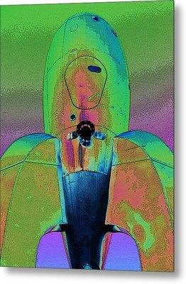 Rocket Ship 3 Metal Print