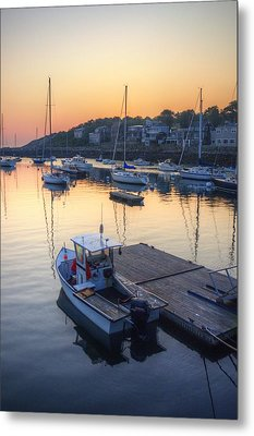 Rockport Dawn Metal Print by Matthew Green