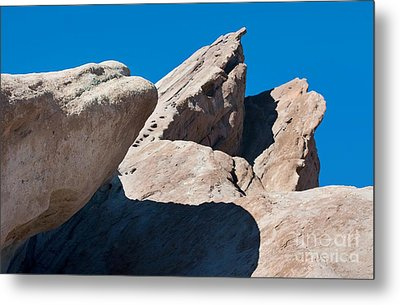 Rocks In Perspective Metal Print by Dan Holm