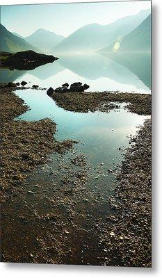 Rocks On The Beach Metal Print by Svetlana Sewell
