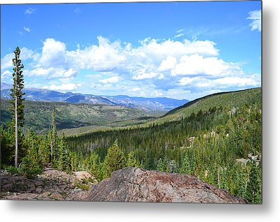 Rocky Mountain National Park2 Metal Print by Zawhaus Photography