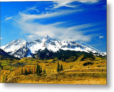 Rocky Mt. High Metal Print