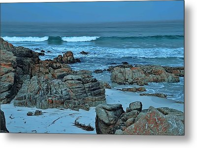 Metal Print featuring the photograph Rocky Shores by Renee Hardison