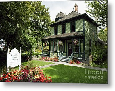 Roedde House Museum Vancouver Canada Metal Print