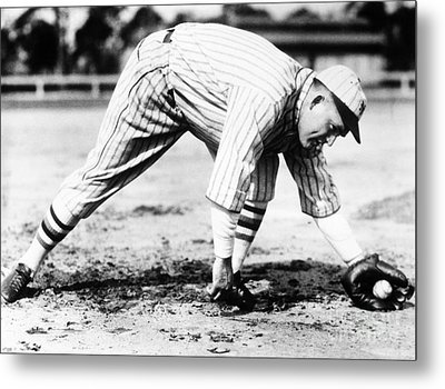 Rogers Hornsby (1896-1963) Metal Print by Granger