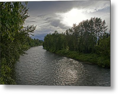 Rogue River In May Metal Print