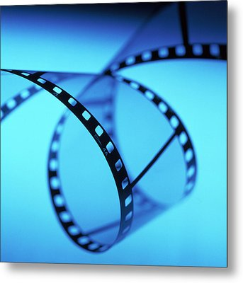 Roll Of 35mm Photographic Film Metal Print