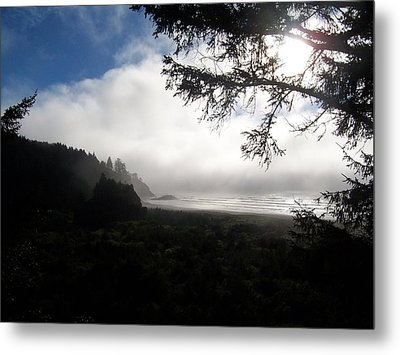 Metal Print featuring the photograph Rolling Fog by Peter Mooyman