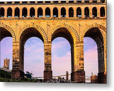 Roman Arches Metal Print