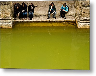 Metal Print featuring the photograph Roman Baths by Justin Albrecht