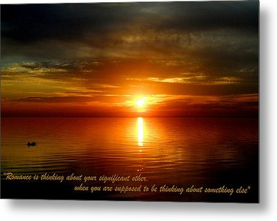 Romance Is In The Air Metal Print