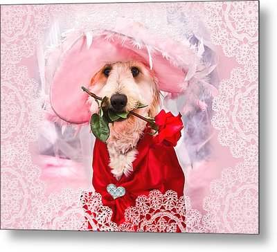 Romantic Kati Metal Print by Trudy Wilkerson