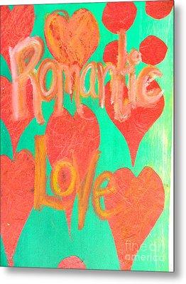 Romantic Love Metal Print