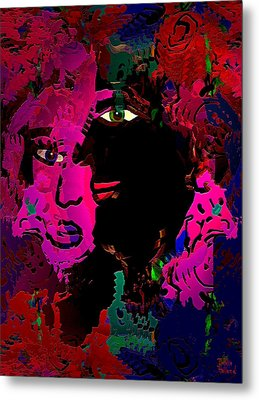 Romantic Soulmates Metal Print by Natalie Holland