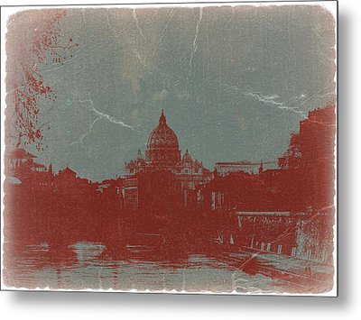 Rome Metal Print by Naxart Studio