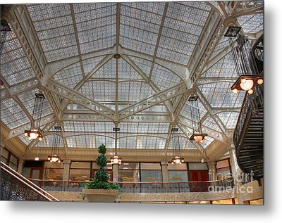 Rookery Ceiling Metal Print by David Bearden