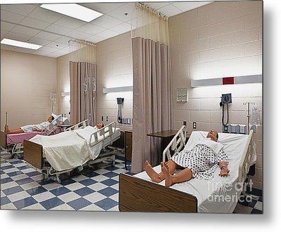 Room In Nursing School Metal Print by Skip Nall