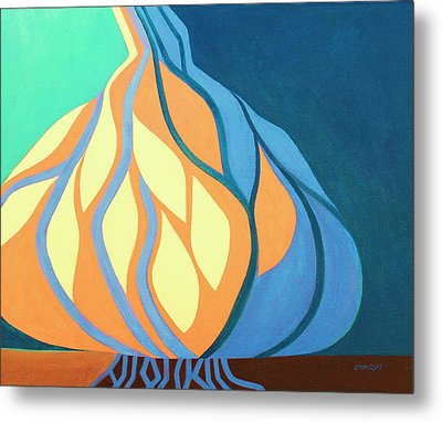 Roots 1 Metal Print by Peggy Wrobleski