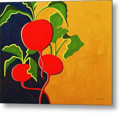 Roots 2 Metal Print by Peggy Wrobleski