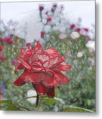 Rose Forever Metal Print by Vijay Sharon Govender