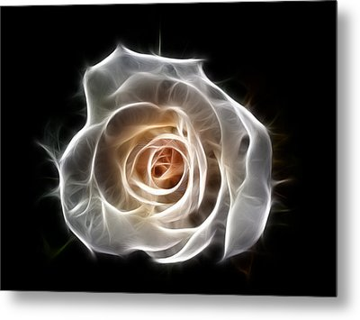 Rose Of Light Metal Print
