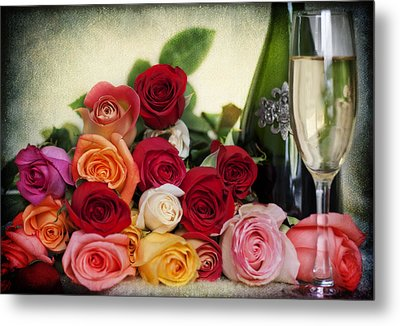 Roses For You Metal Print by Yelena Rozov
