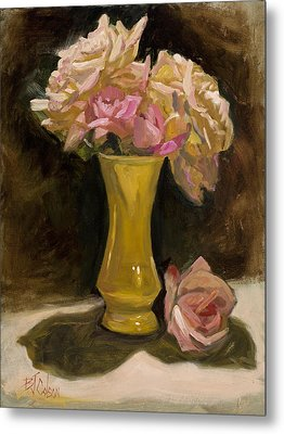 Roses From A Friend Metal Print by Billie Colson