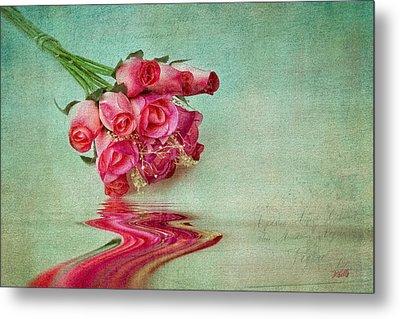 Roses Metal Print by Michael Petrizzo
