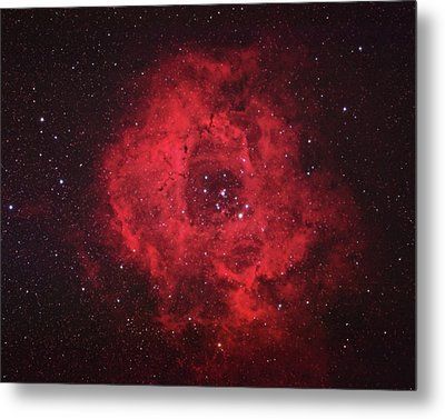Rosette Nebula Metal Print by Pat Gaines