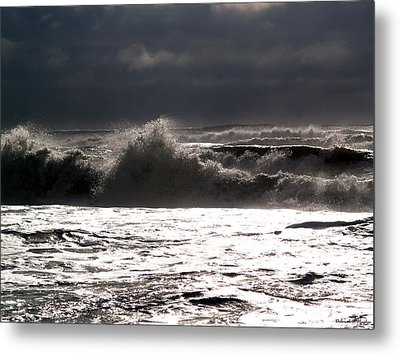Rough Waves 2 Metal Print