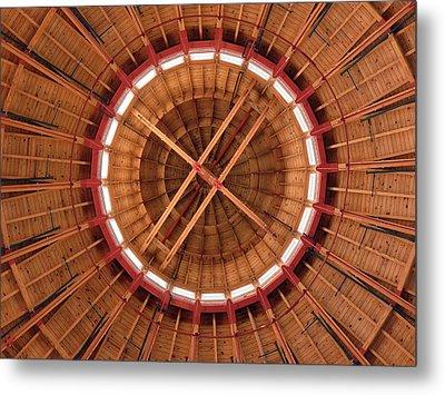 Roundhouse Cupula Metal Print by Darleen Stry