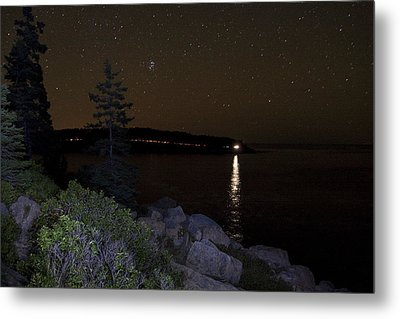 Metal Print featuring the photograph Rounding Otter Point by Brent L Ander