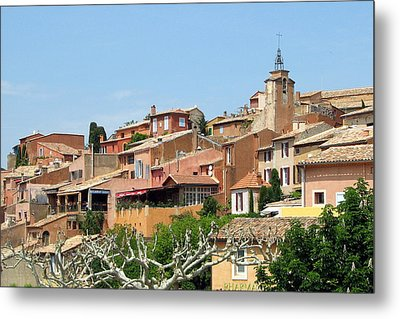 Metal Print featuring the photograph Roussillon In Provence by Carla Parris